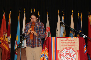 Miwese Greenwood,  2016 National Forum on Dropout Prevention: Serving Native Students and Tribal Communities, March 6–9, 2016, Oklahoma City, Oklahoma