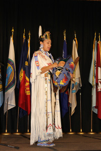 Ms. Carmen Sankey, 2015-2016 Miss Indian Oklahoma  2016 National Forum on Dropout Prevention: Serving Native Students and Tribal Communities, March 6–9, 2016, Oklahoma City, Oklahoma