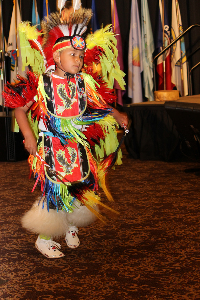 The Darlington Traditional Dance Club, Darlington Public Schools 2016 National Forum on Dropout Prevention: Serving Native Students and Tribal Communities, March 6–9, 2016, Oklahoma City, Oklahoma