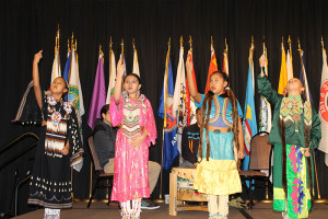 The Darlington Traditional Dance Club, Darlington Public Schools, El Reno, Oklahoma, 2016 National Forum on Dropout Prevention: Serving Native Students and Tribal Communities, March 6–9, 2016, Oklahoma City, Oklahoma