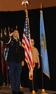 The Oklahoma City Public Schools Color Guard, 2016 National Forum on Dropout Prevention: Serving Native Students and Tribal Communities, March 6–9, 2016, Oklahoma City, Oklahoma